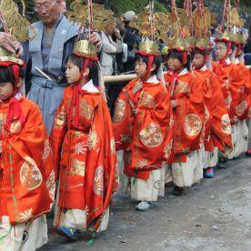 Possession happening at the shrine