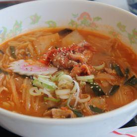 Kimchi ramen (Yen 1,000 = SGD12.50)