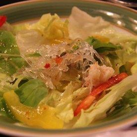 Crab salad. Tasted normal