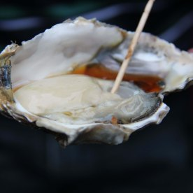 Raw oyster!