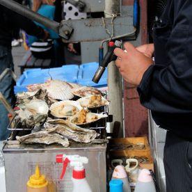 Fresh seafood on a BBQ!!!