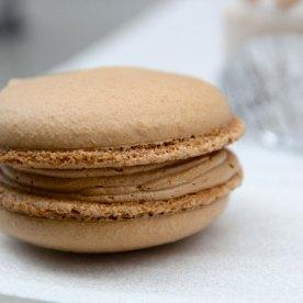 Salted caramel macaron (630Yen = 7.80SGD)