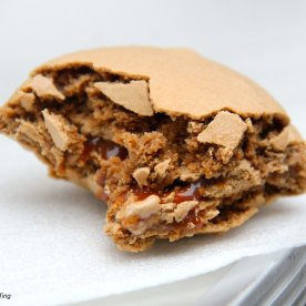 Look at the filling! It's so good! When you bite into you, the caramel just oozes out! I will go back just for this!