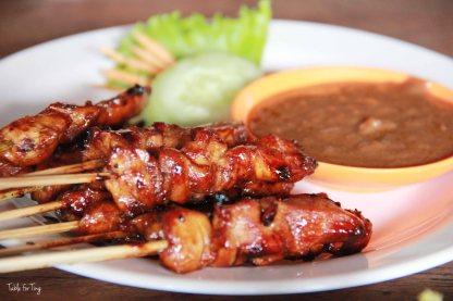Chicken satay - It was better than the satay I had at Warung Murah.