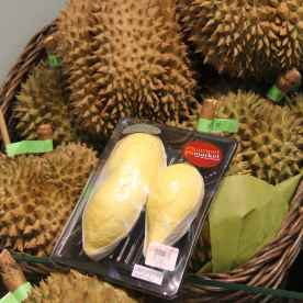 Very expensive but very good durian!