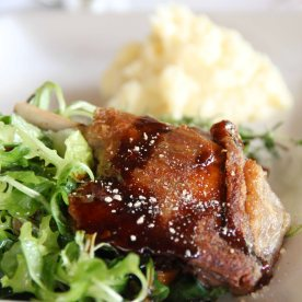 Duck confit - Pretty good!