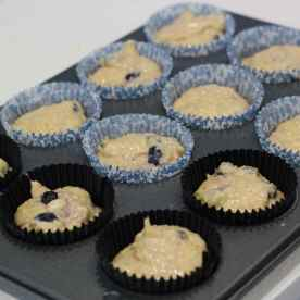 Separate it out into the muffin tray and bake it in the oven for 25min or when the muffins turned brown.