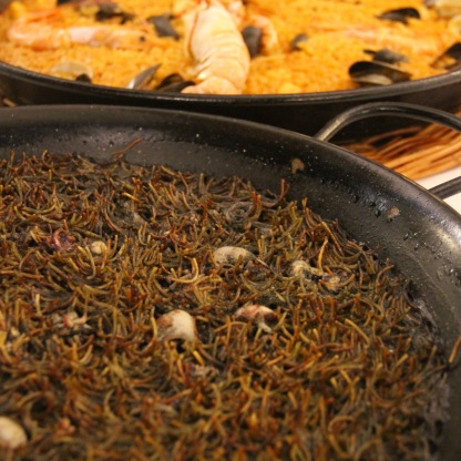 Fideau and Paella - Can Sole